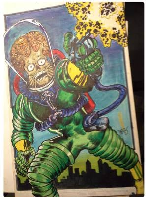 Mars Attacks by Maz