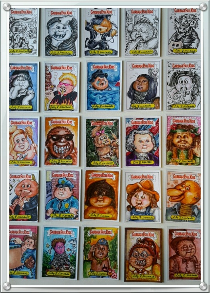 gpk battle of the bands regular cards